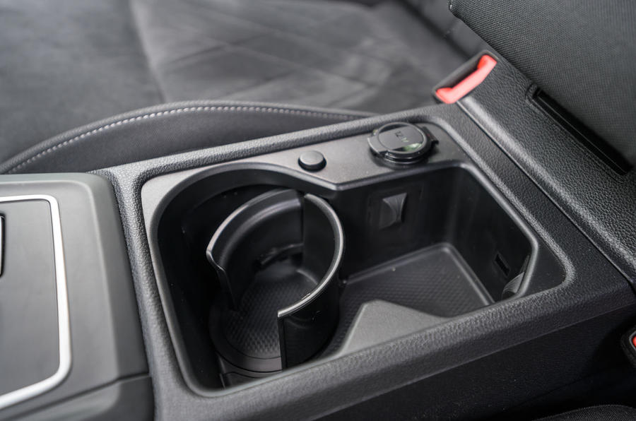 Volkswagen Golf 2020 road test review - centre console