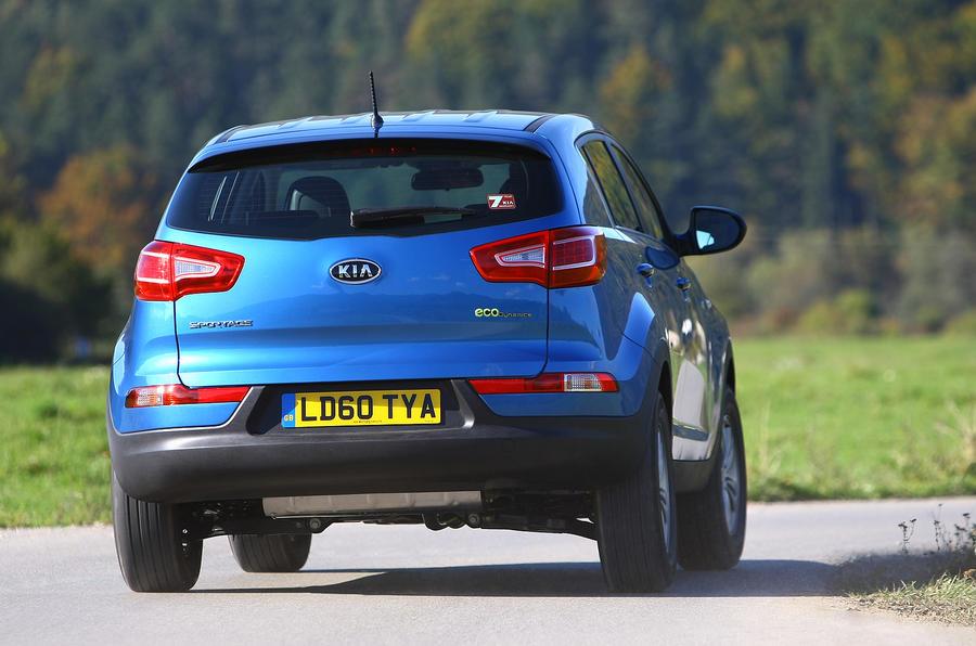 Kia Sportage rear