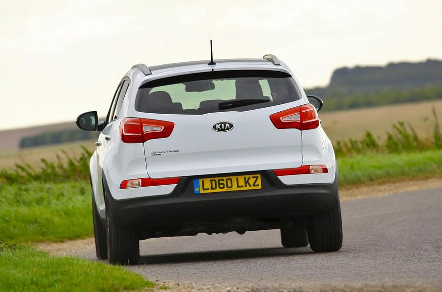 Kia Sportage rear end