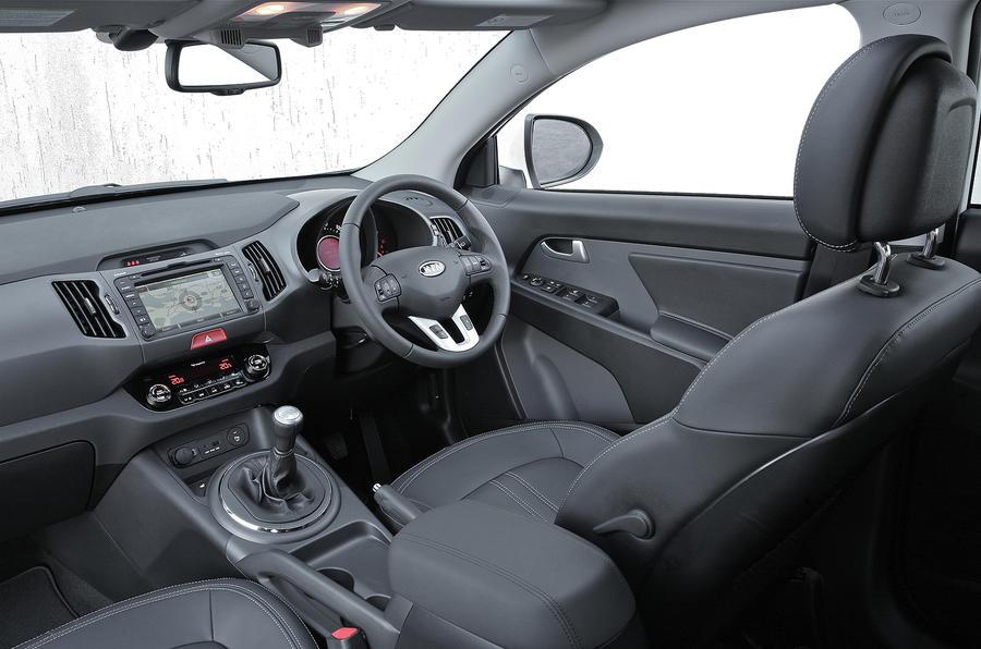 kia sportage 1 7 crdi review autocar. Black Bedroom Furniture Sets. Home Design Ideas
