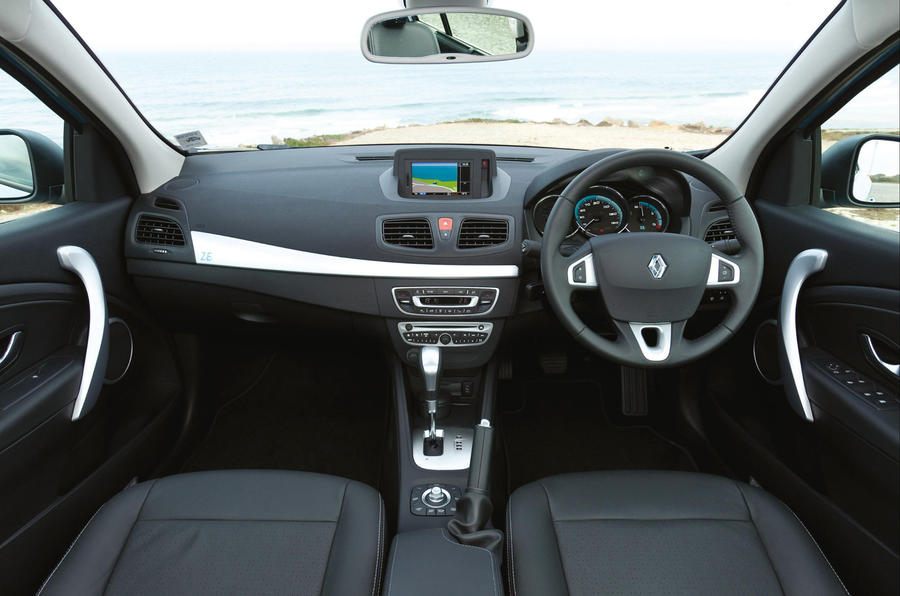 Renault Fluence ZE dashboard