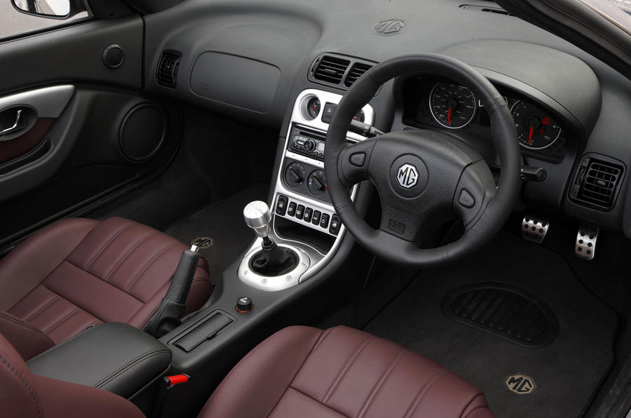 MG TF 85th Anniversary interior