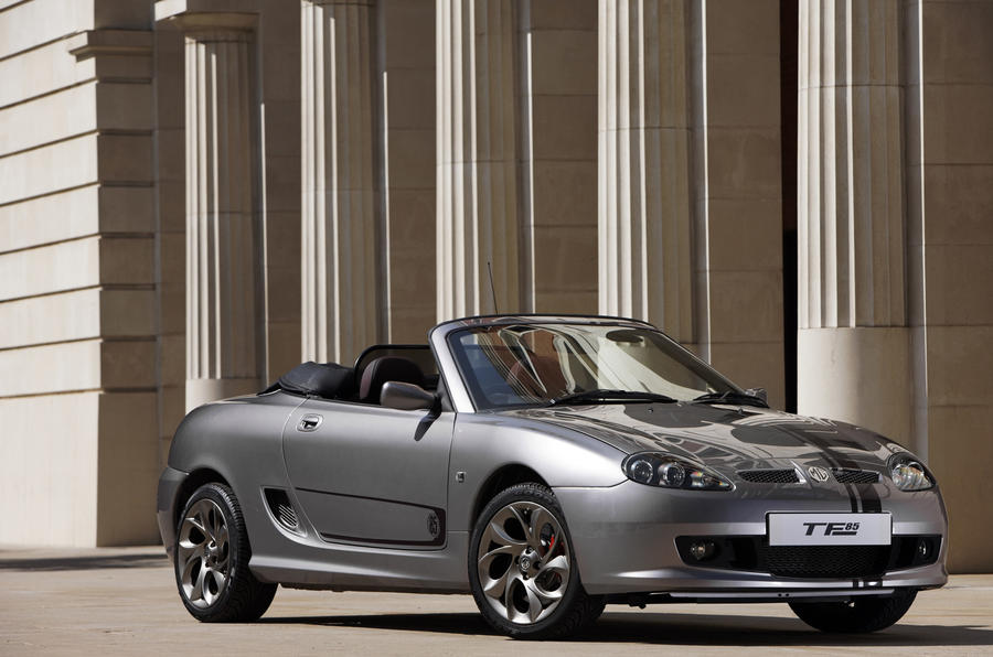 MG TF 85th Anniversary roof down