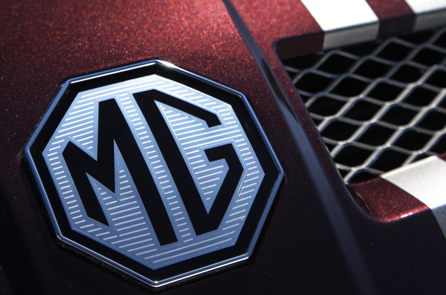 MG TF badging