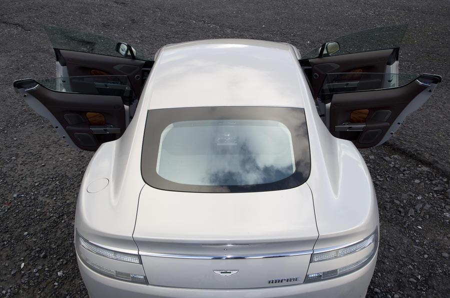 Aston Martin Rapide doors open