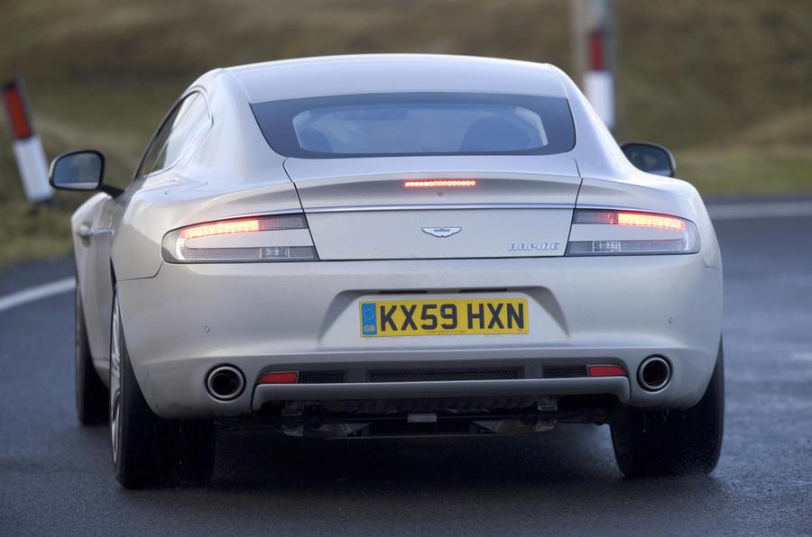 Aston Martin Rapide rear