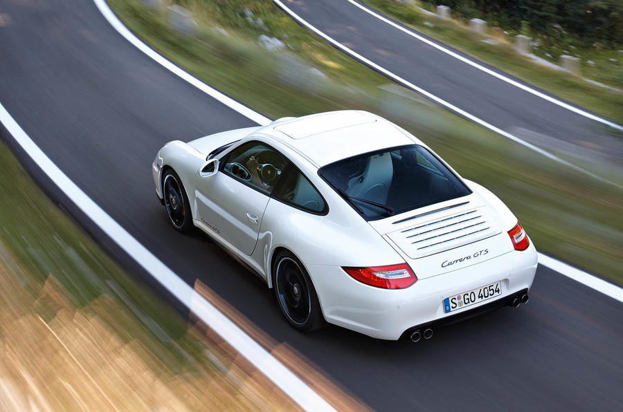Porsche 911 Carrera GTS rear