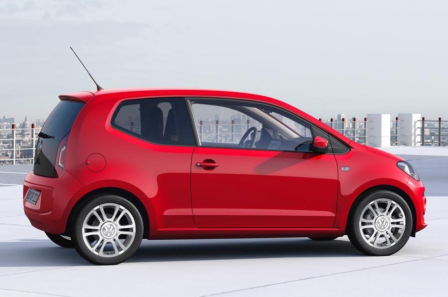 Volkswagen Up 1.0 side profile