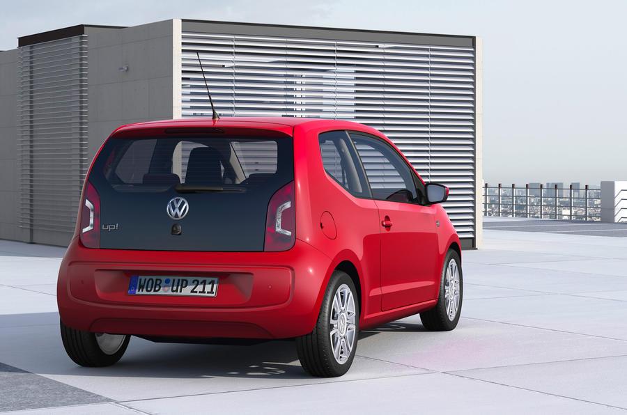 Volkswagen Up 1.0 rear