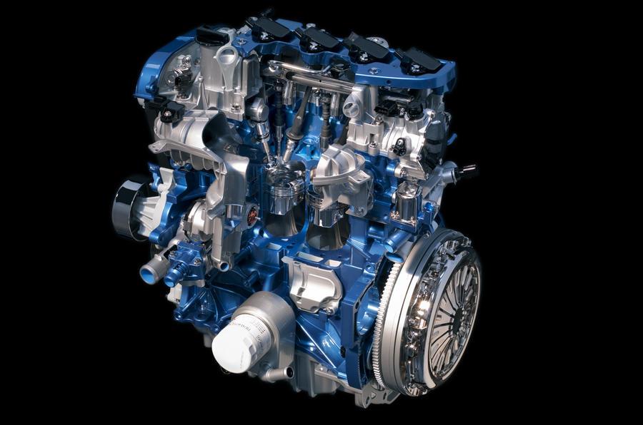1.6-litre Ford Focus Ecoboost engine