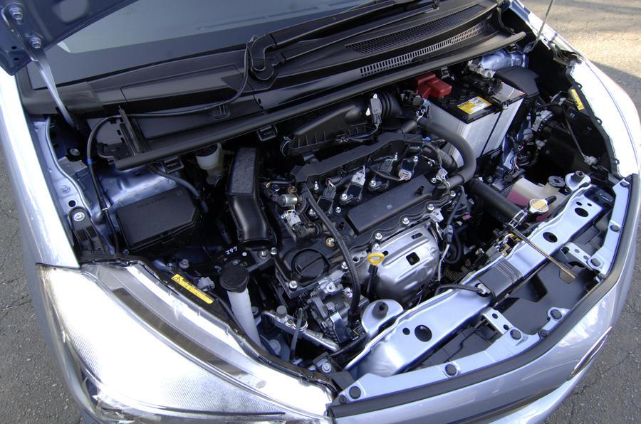 1.3-litre Toyota Yaris petrol engine