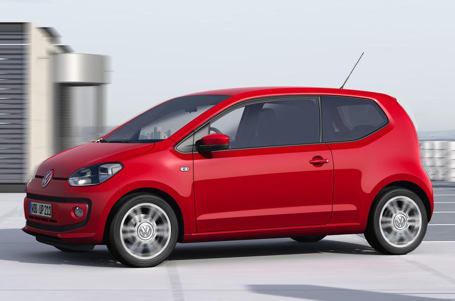 Volkswagen Up 1.0 front quarter