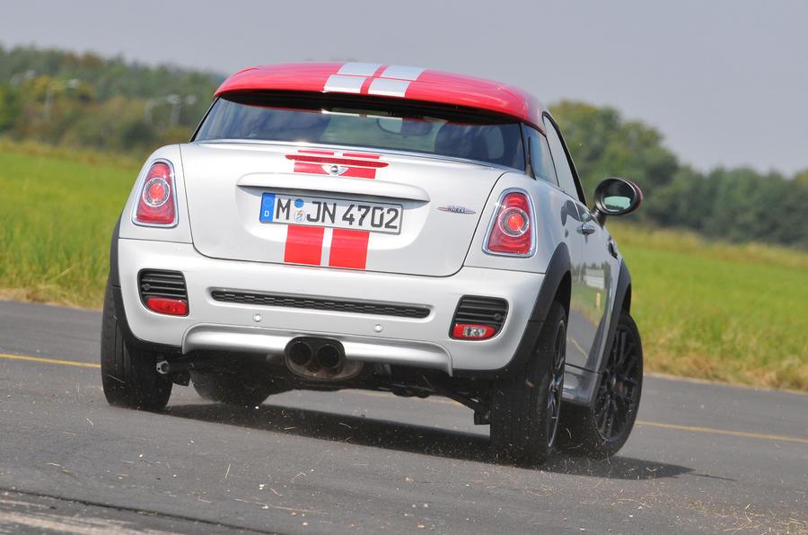 Mini Coupé JCW rear