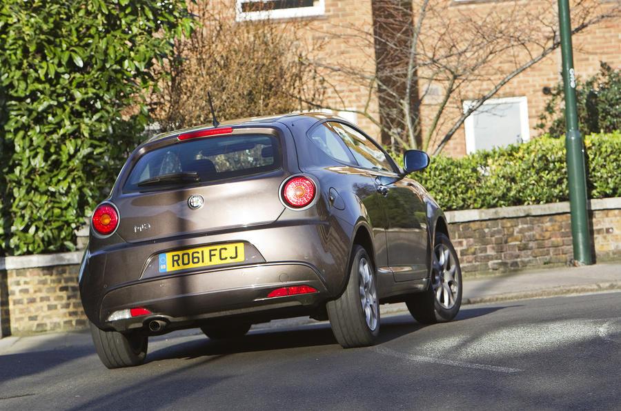 Alfa Romeo Mito rear