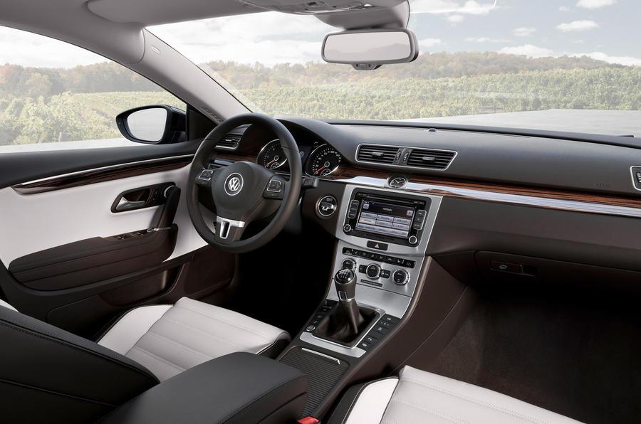 Volkswagen CC GT dashboard