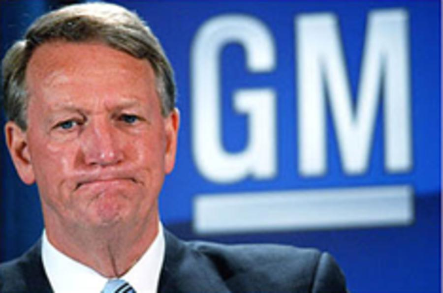 GM chief quits
