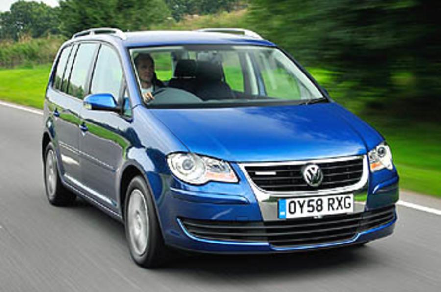 volkswagen touran bluemotion review autocar. Black Bedroom Furniture Sets. Home Design Ideas