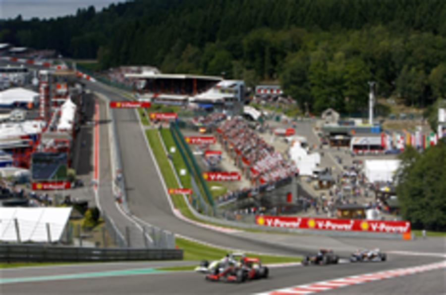Spa circuit saved