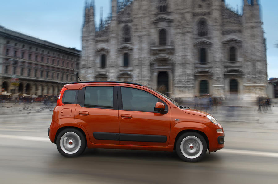 Fiat Panda side profile