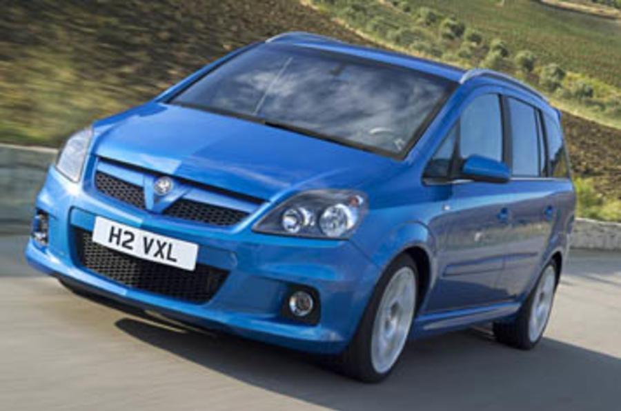 Vauxhall Zafira VXR