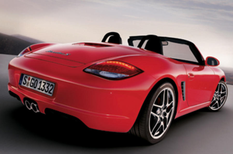 Porsche Boxster S 3 4 Convertible First Drive