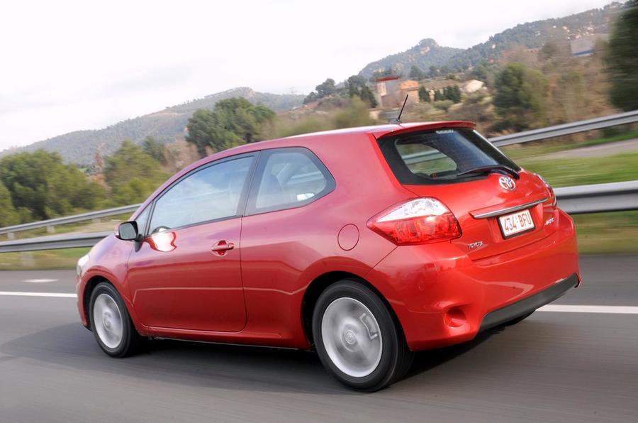 Toyota Auris rear quarter