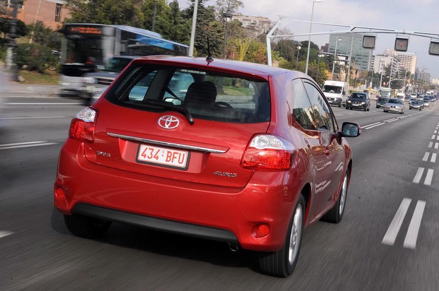 Toyota Auris rear end