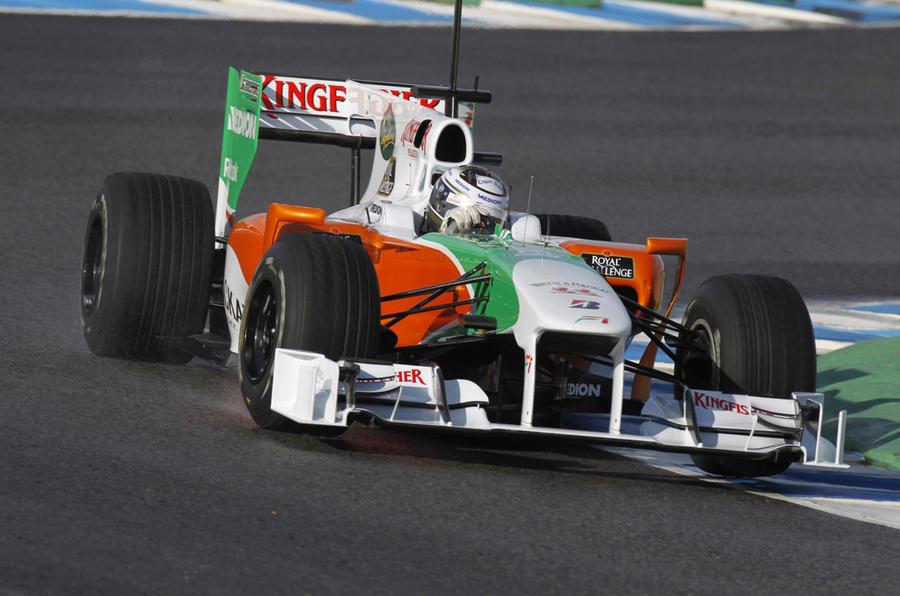 Webber fastest; Button quick