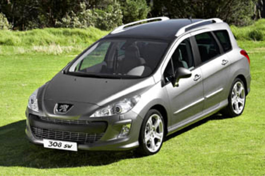 peugeot 308 sw 1 6 hdi review autocar. Black Bedroom Furniture Sets. Home Design Ideas