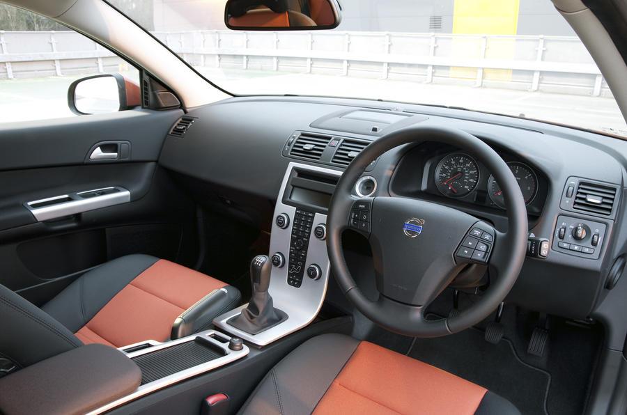 Volvo C30 dashboard