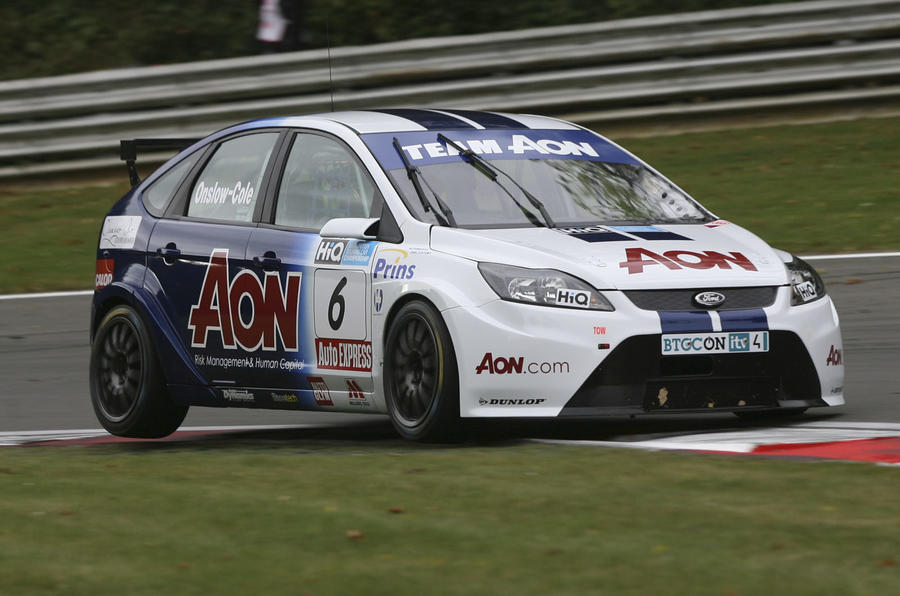 Ford Focus LPG racers join BTCC