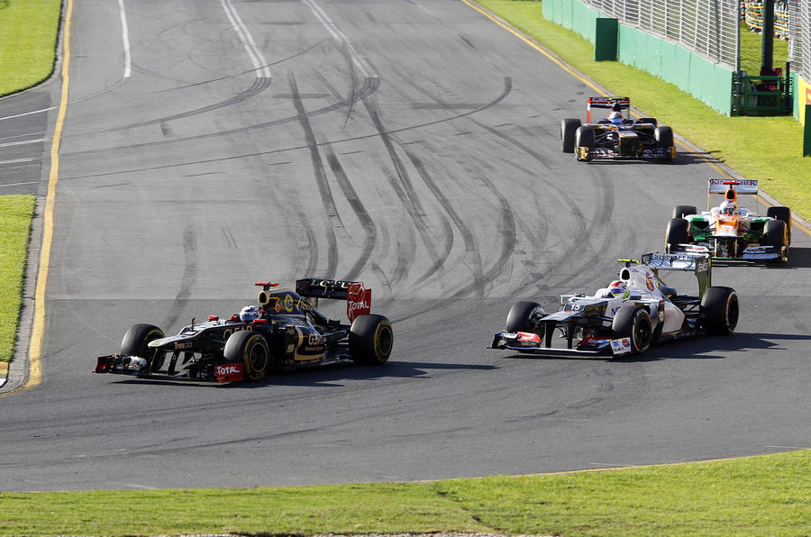 Button storms to Australian GP win