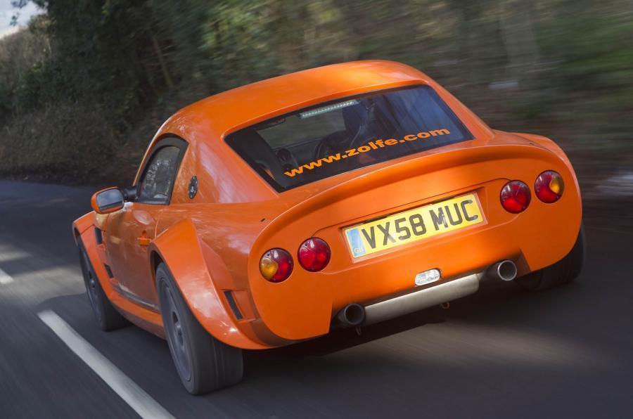 Zolfe Classic GTC4 rear