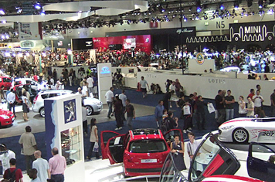 2012 British motor show cancelled