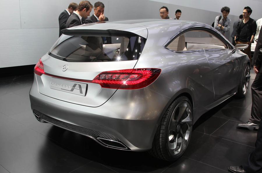 Shanghai motor show: Mercedes A-class