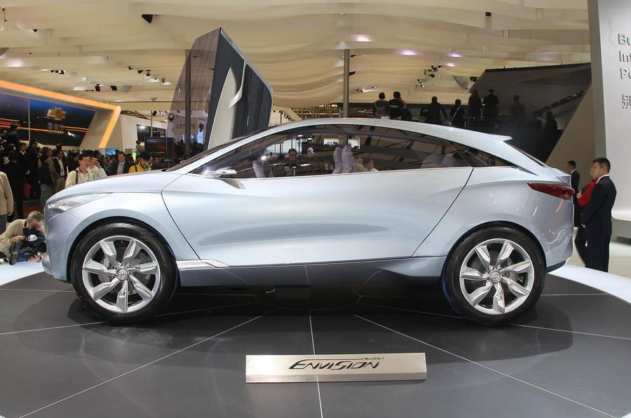 Shanghai motor show: Buick Envision