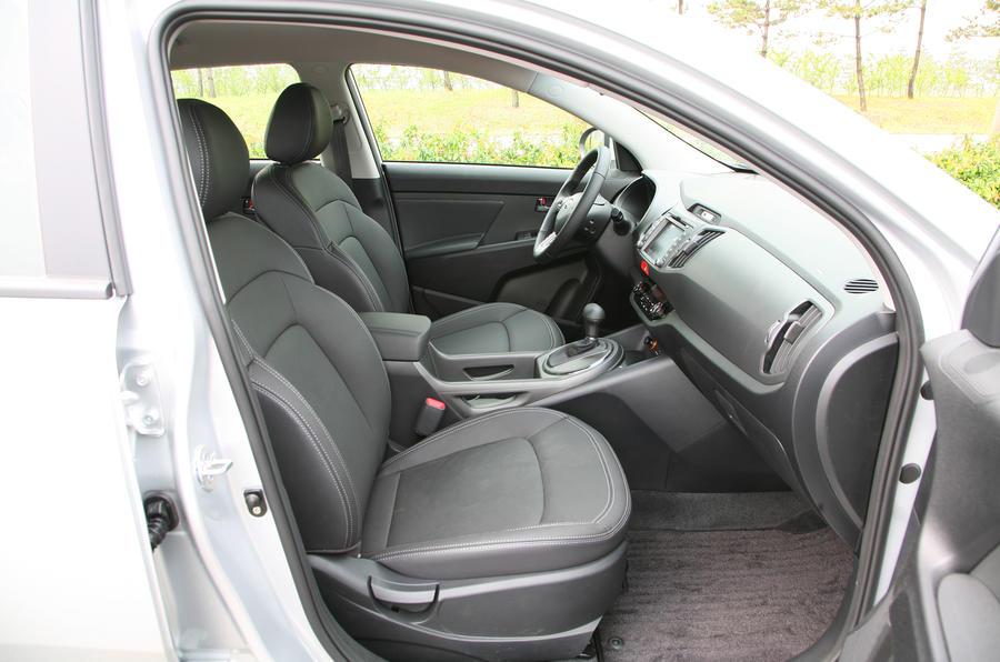 Kia Sportage 2.0 CRDi 4x4 Auto