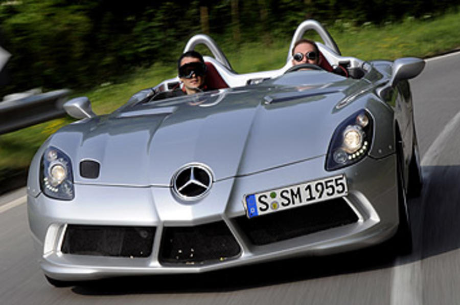 mercedes-benz slr stirling moss review review | autocar
