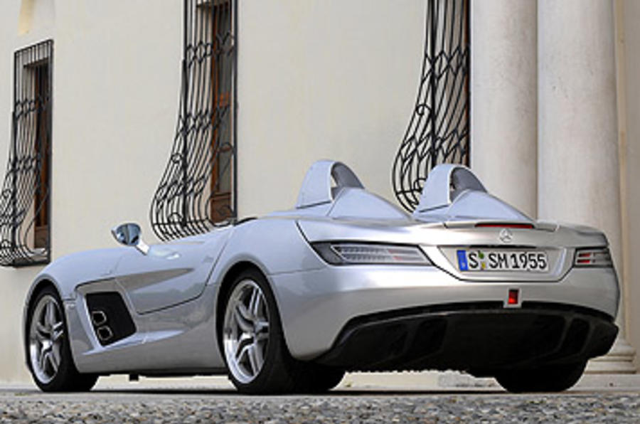 Mercedes slr stirling moss review autocar for Moss motors mercedes benz