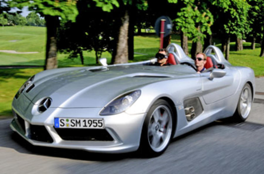 Mercedes-Benz SLR Stirling Moss review
