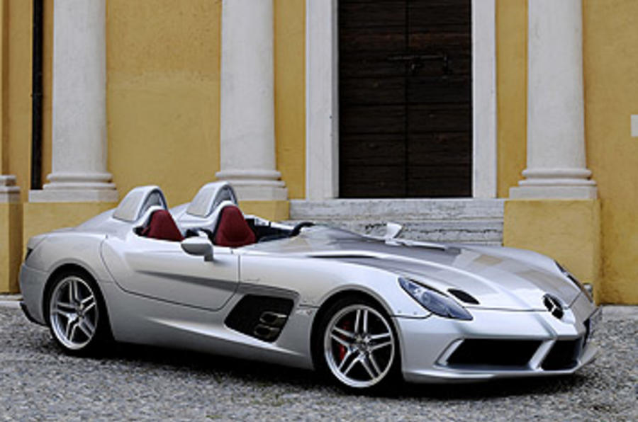 mercedes slr stirling moss review autocar. Black Bedroom Furniture Sets. Home Design Ideas