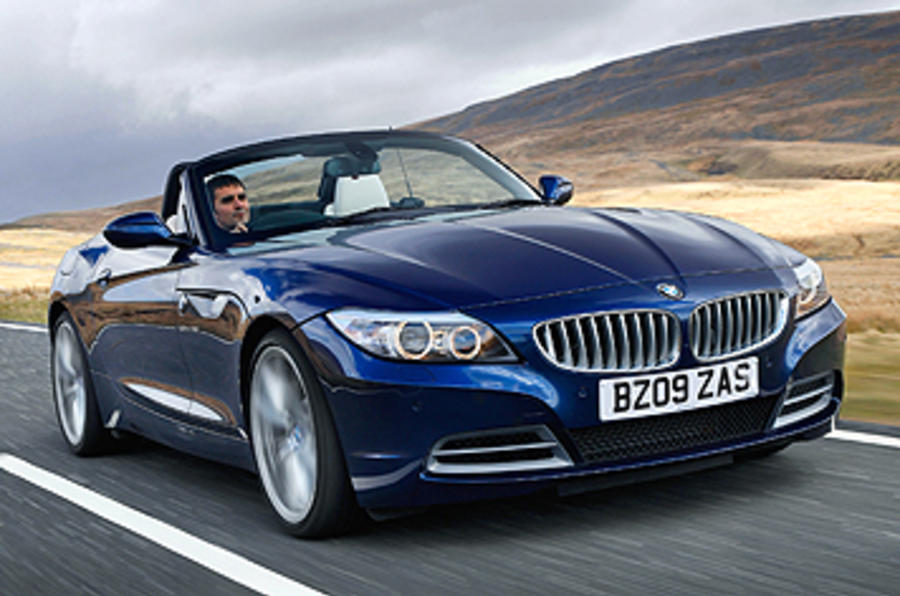 BMW Z4 sDrive23i roof down