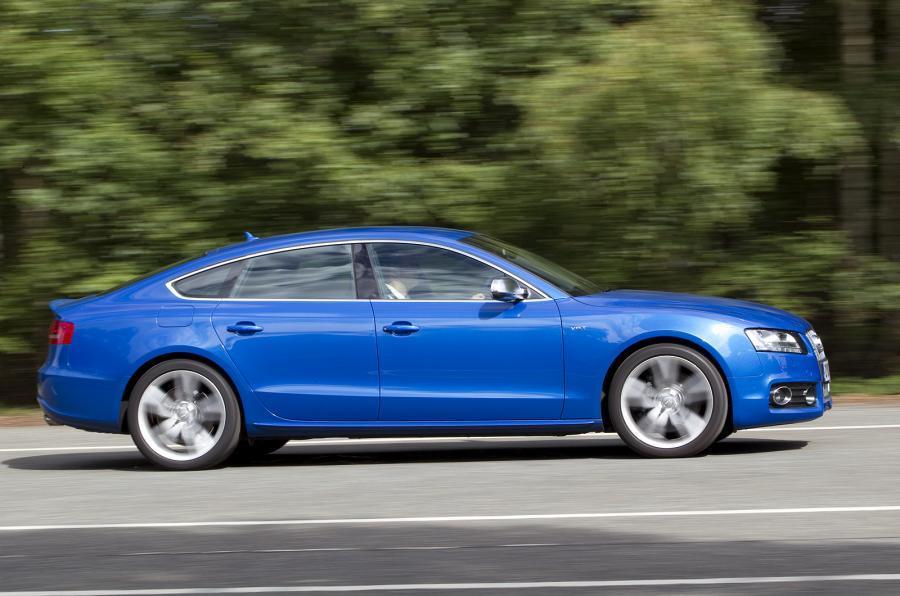 3 star Audi S5 Sportback