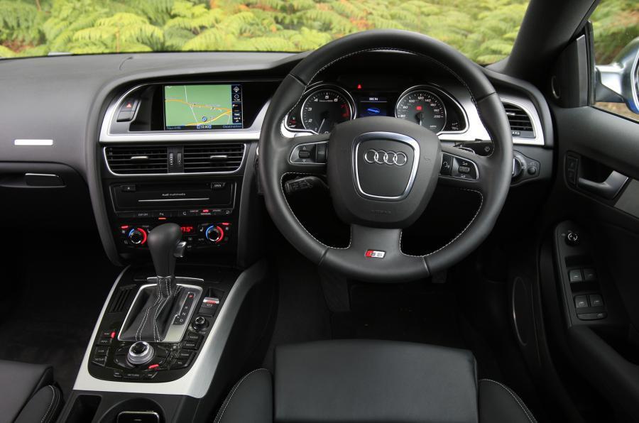 Audi S5 Sportback's interior