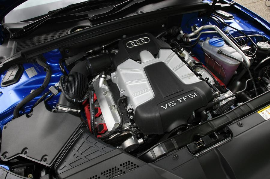 3.0-litre V6 Audi S5 engine