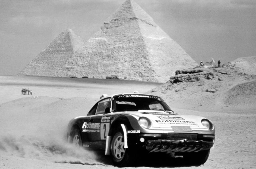 1984 Porsche 911 SC RS rally car (Rothmans)