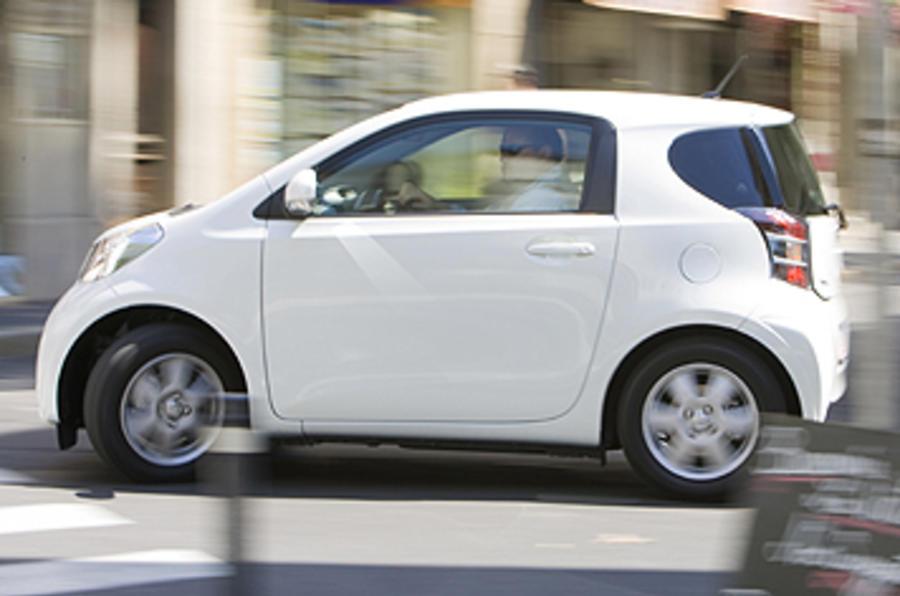 Toyota iQ 10 city car first drive