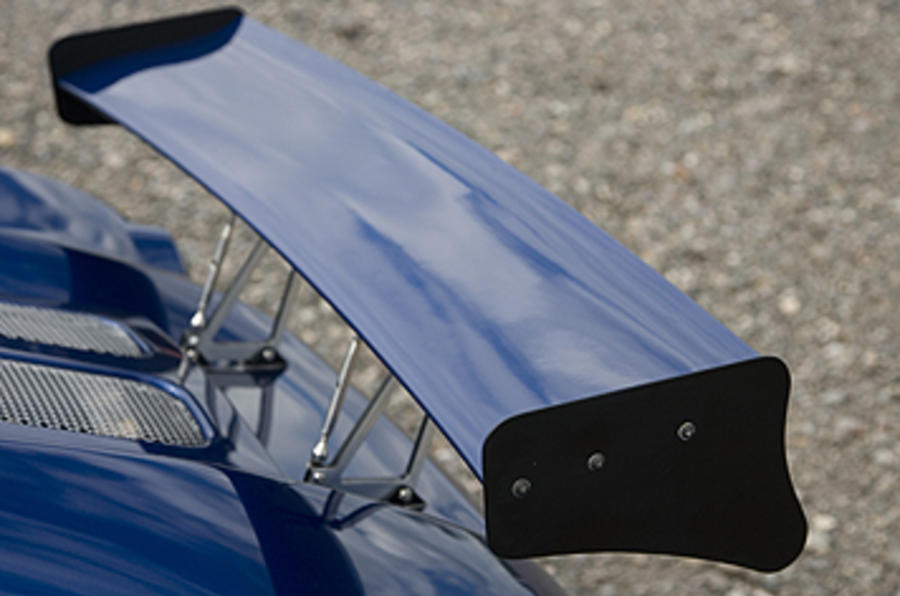 Marlin 5exi-R rear wing