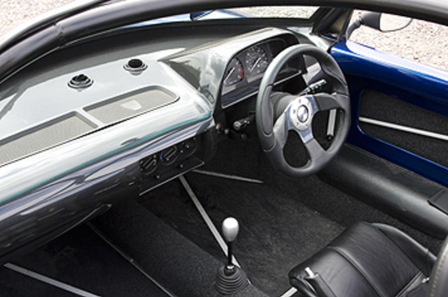 Marlin 5exi-R dashboard