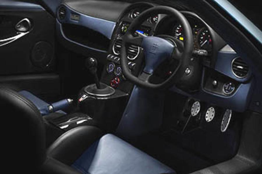 Noble M600 steering wheel